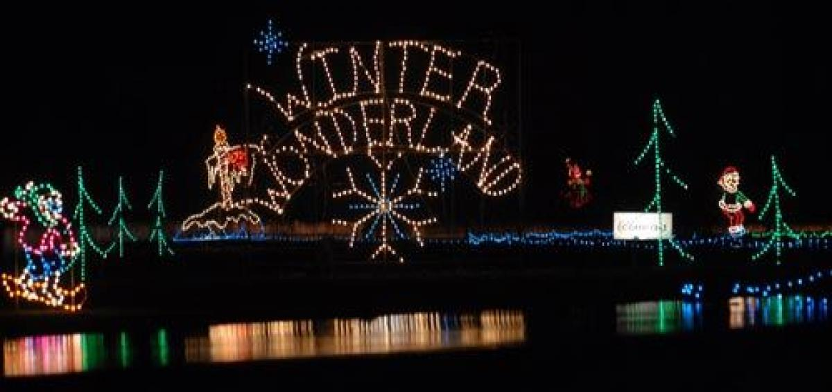 Board a SMART bus for a trip to Portland International Raceway to see the  Winter Wonderland holiday light show. The bus departs from the Community  Center, ... - Holiday Light Drives Wilsonville, Oregon